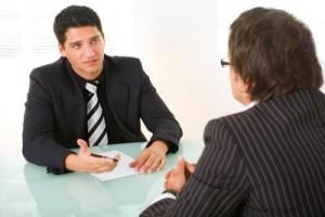 a interview